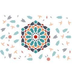 Islamic design seamless pattern vector