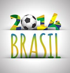 Soccer 2014 poster vector