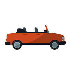 Sport car icon vector