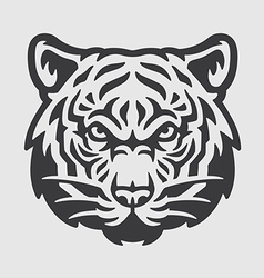 Tiger Head Logo Mascot Emblem vector