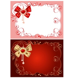 Valentines day beautiful vector
