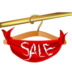clothing sale vector image vector image