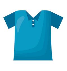 blue t shirt wear vector image