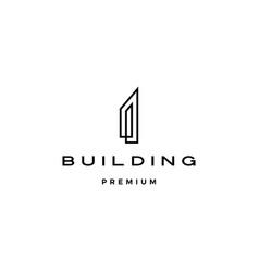 building logo icon vector image