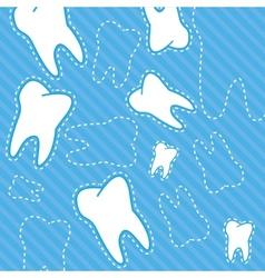 Dental background vector