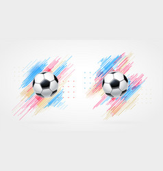 Football cup 2018 soccer championship vector