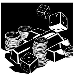fortune and money vector image