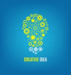 Innovation creative idea concept vector
