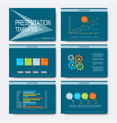 set of templates for multipurpose vector image