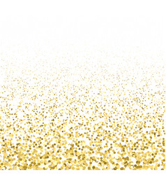 shiny gold glitter sparkling texture vector image