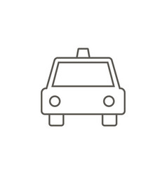 taxi icon simple element from map and navigation vector image