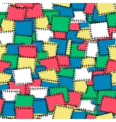 Seamless pattern with bright patches Background vector image