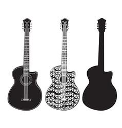 Guitar vector image vector image