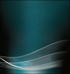 Abstract aquamarine background with transparent cu vector