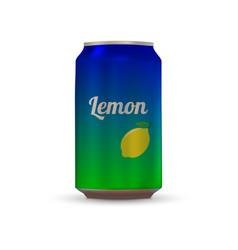 Drink aluminium can vector