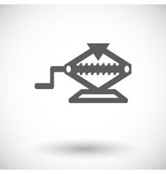 icon jack vector image