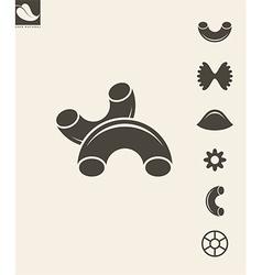 Pasta Set vector image