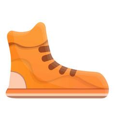 Basketball shoes icon cartoon style vector