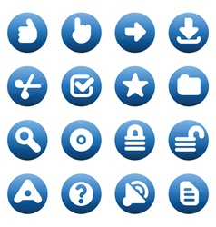 Buttons for Internet vector image