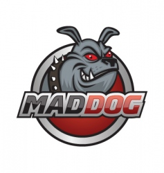 Mad dog vector