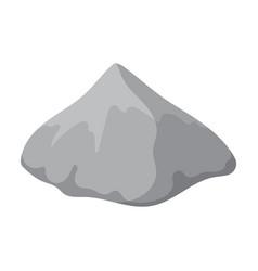 Pile cement iconcartoon icon vector