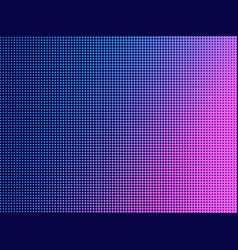 pop art dots with violet gradient halftone vector image
