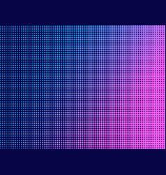 pop art dots with violet gradient halftone vector image