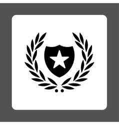 Shield icon from Award Buttons OverColor Set vector