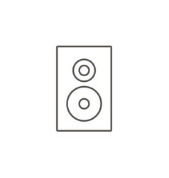 speaker icon simple element from map and vector image