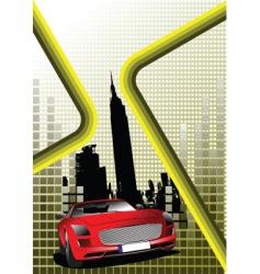 Urban poster vector