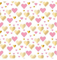 valentines day seamless modern luxury pattern vector image