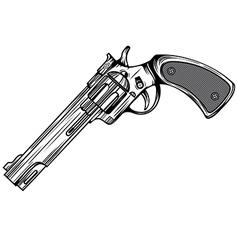 revolver 3 vector image