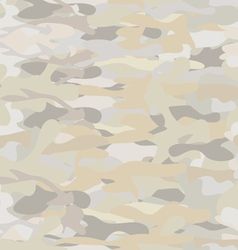 Khaki camouflage repeat pattern vector image vector image