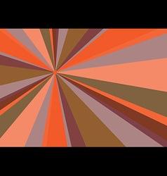 Rays Radius Background Orange vector image vector image