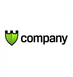 security logo vector image vector image