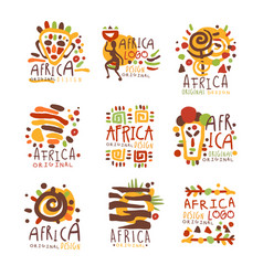 Africa logo original design travel to africa vector