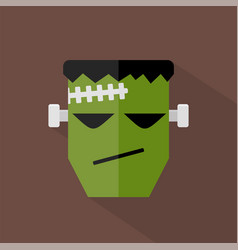 Frankenstein icon set of great flat icons design vector