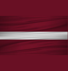 latvia flag flag of latvia blowig in the wind vector image