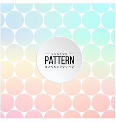Pattern blue and pink circle background ima vector