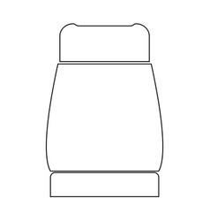 Pepper the black color icon vector