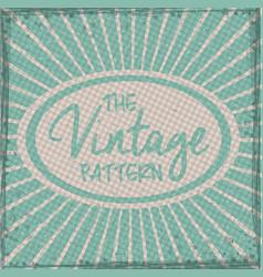 Retro and Vintage background design vector image