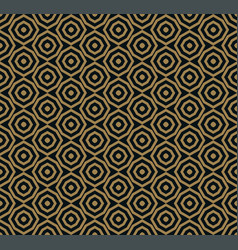 the geometric pattern seamless background vector image