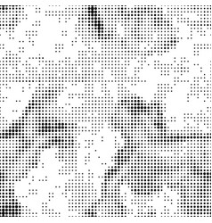 halftone abstract seamless background vector image