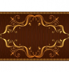 background brow vector image vector image
