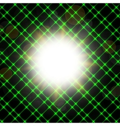 Abstract neon background blurry light effects vector image