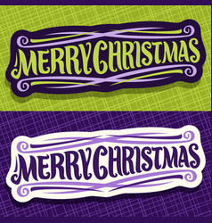 Banners for christmas vector