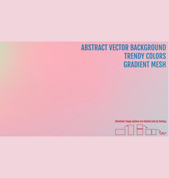 Creative gradient background for greeting card vector