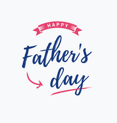 fathers-day-card vector image