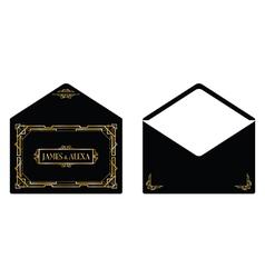 gatsby envelope vector image