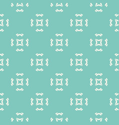 Geometric ornament seamless pattern floral motif vector